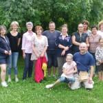 photo de groupe de l'équipe des travaux du 25-08-2012